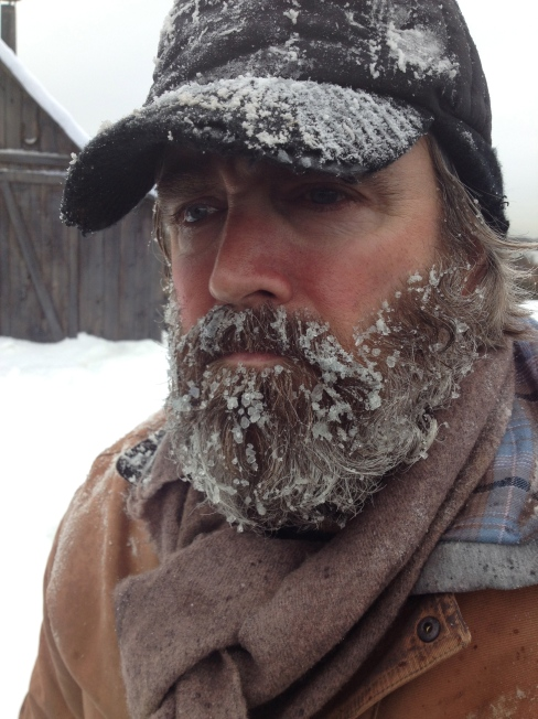 Canadian Tire snow beard